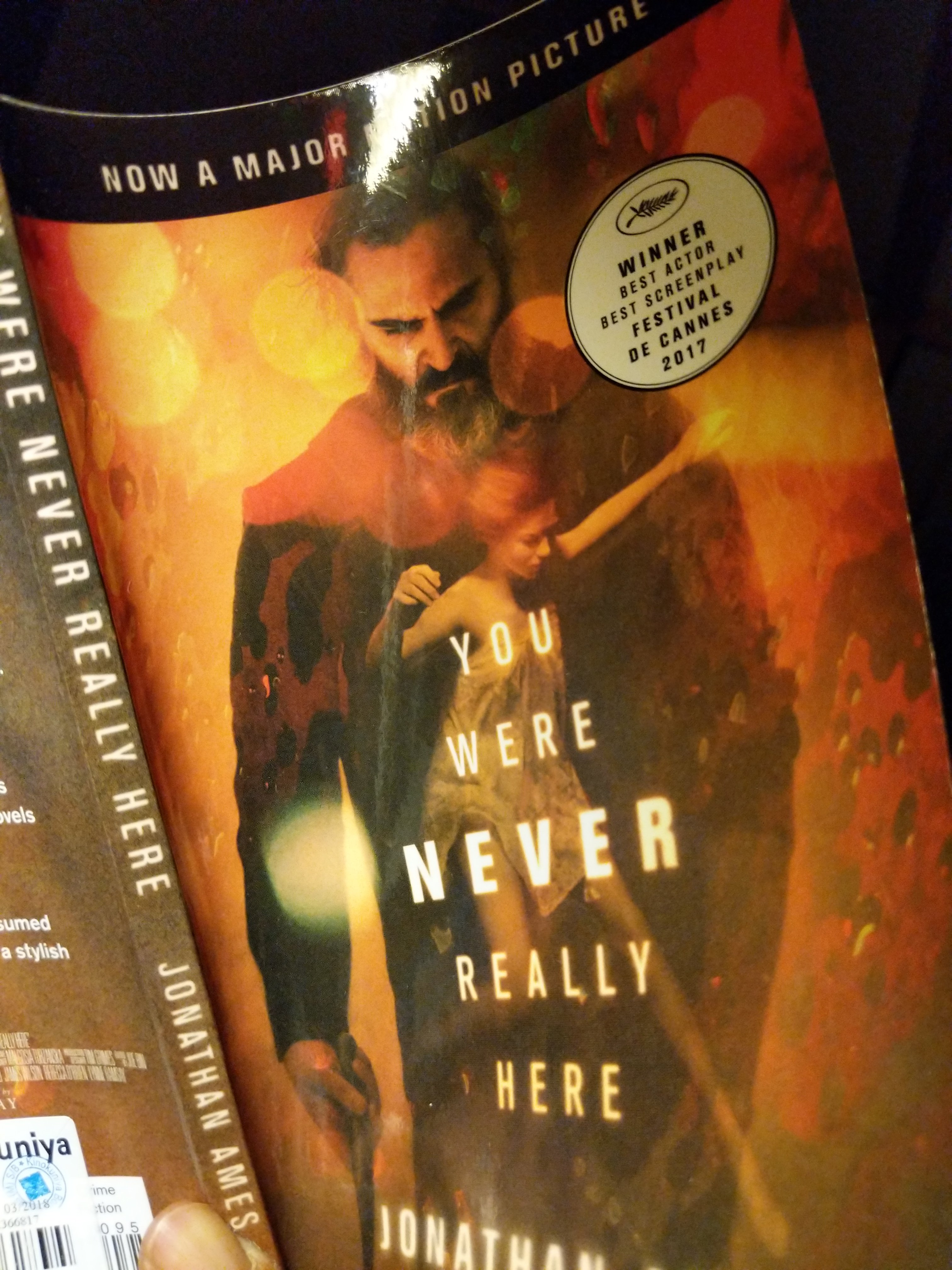 You Were Never Really Here by Jonathan Emes