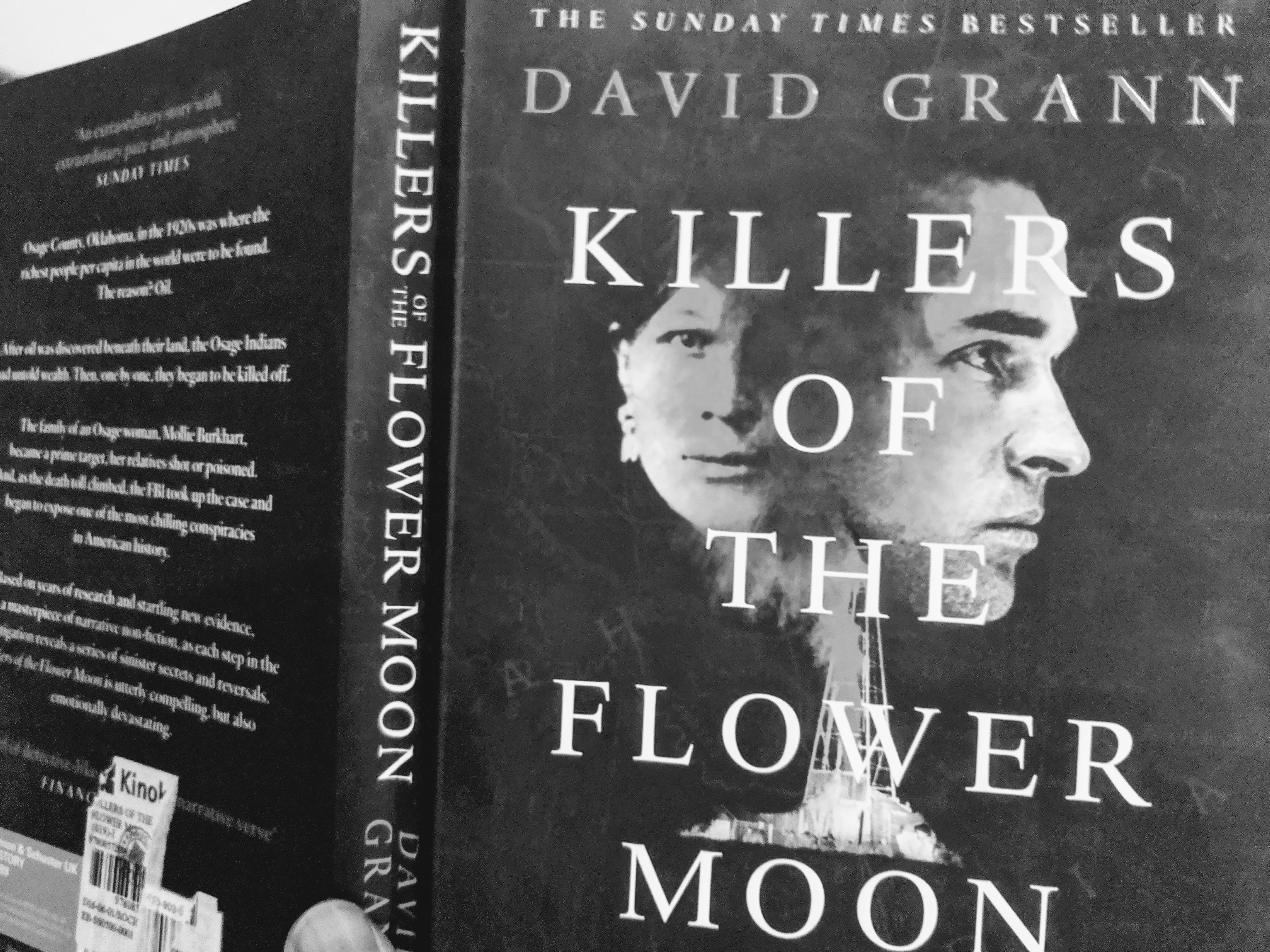 """I just finished this book and think you might like """"Killers Of The Flower Moon"""" by David Grann"""