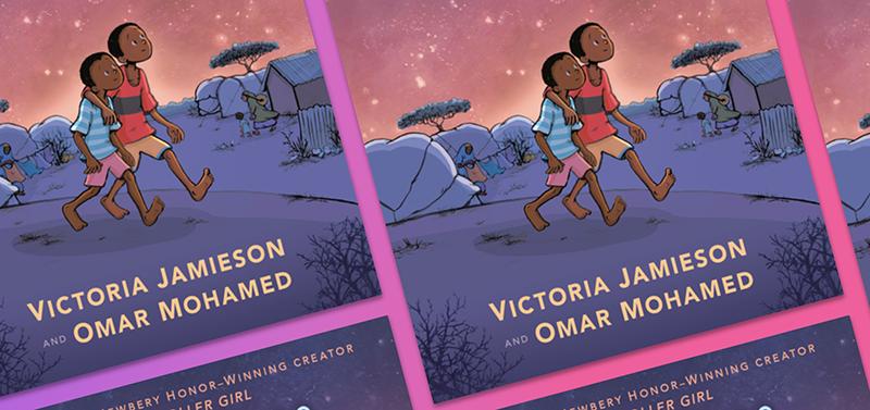 When Stars Are Scattered (Graphic Novel) byVictoria Jamieson,Omar Mohamed,Iman Geddy(Illustrator)